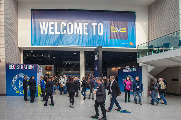 Broadcast Video Expo at the London Excel Centre