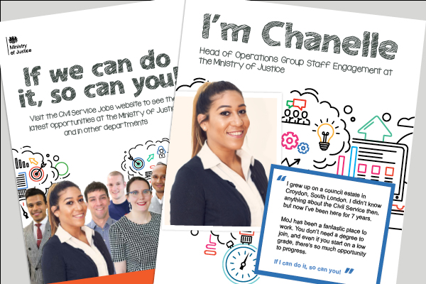 Poster Campaign for MoJ Schools Engagement Project