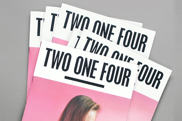 Two One Four magazine by Shaz Madani for Topshop