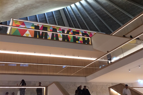 The new Design Museum, High Street Kensington