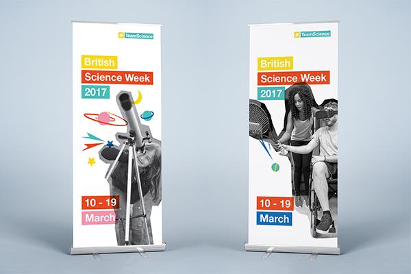 #TeamScience campaign branding